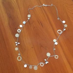 Silpada .925 Silver and Pearl Necklace